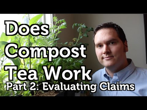 Does Compost Tea Work? Part 2 Fertilizer, Beneficial Bacteria and Big Vegetables