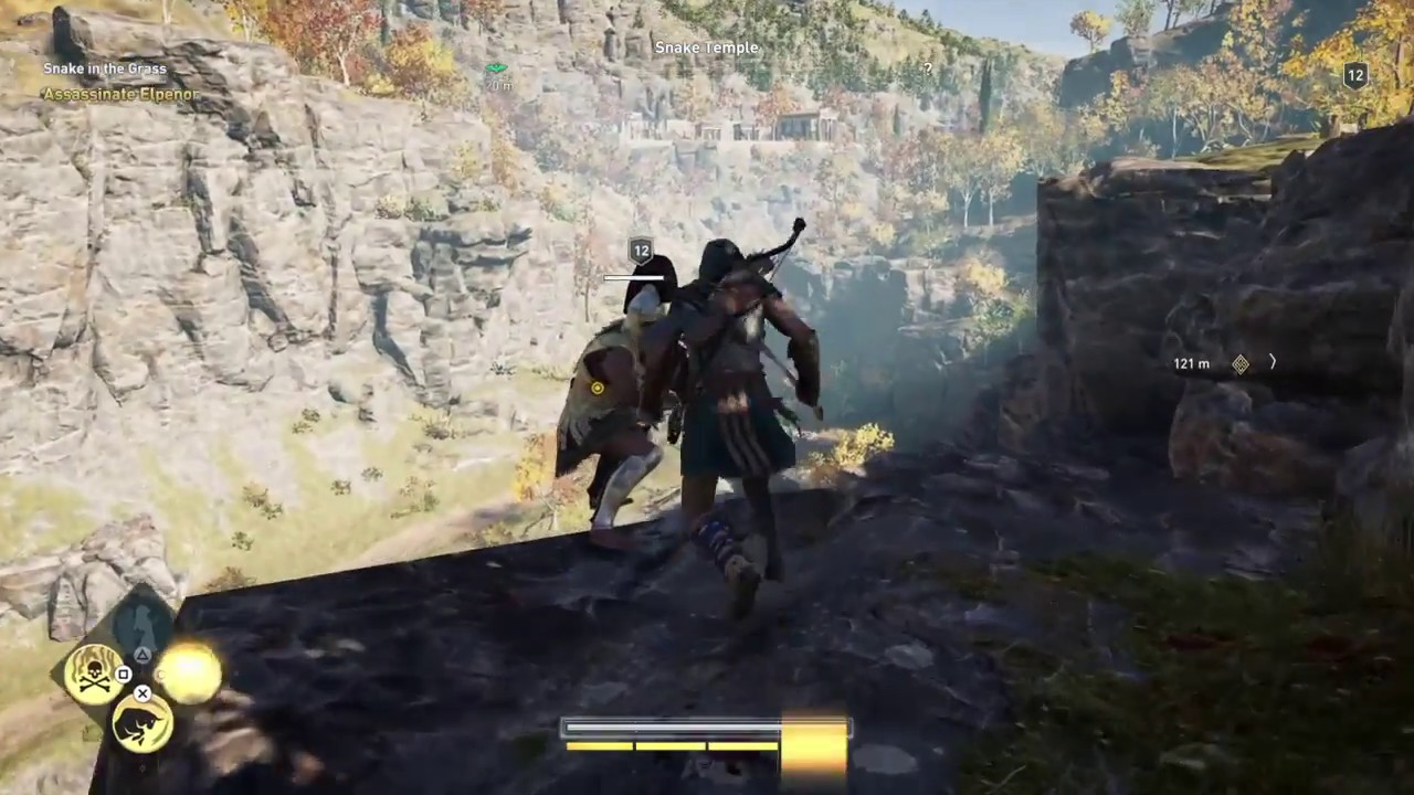 Assassin S Creed Odyssey Ps4 Gameplay Spoiler Free Youtube