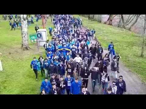 Os afeccionados do Oviedo chegan ao Ángel Carro