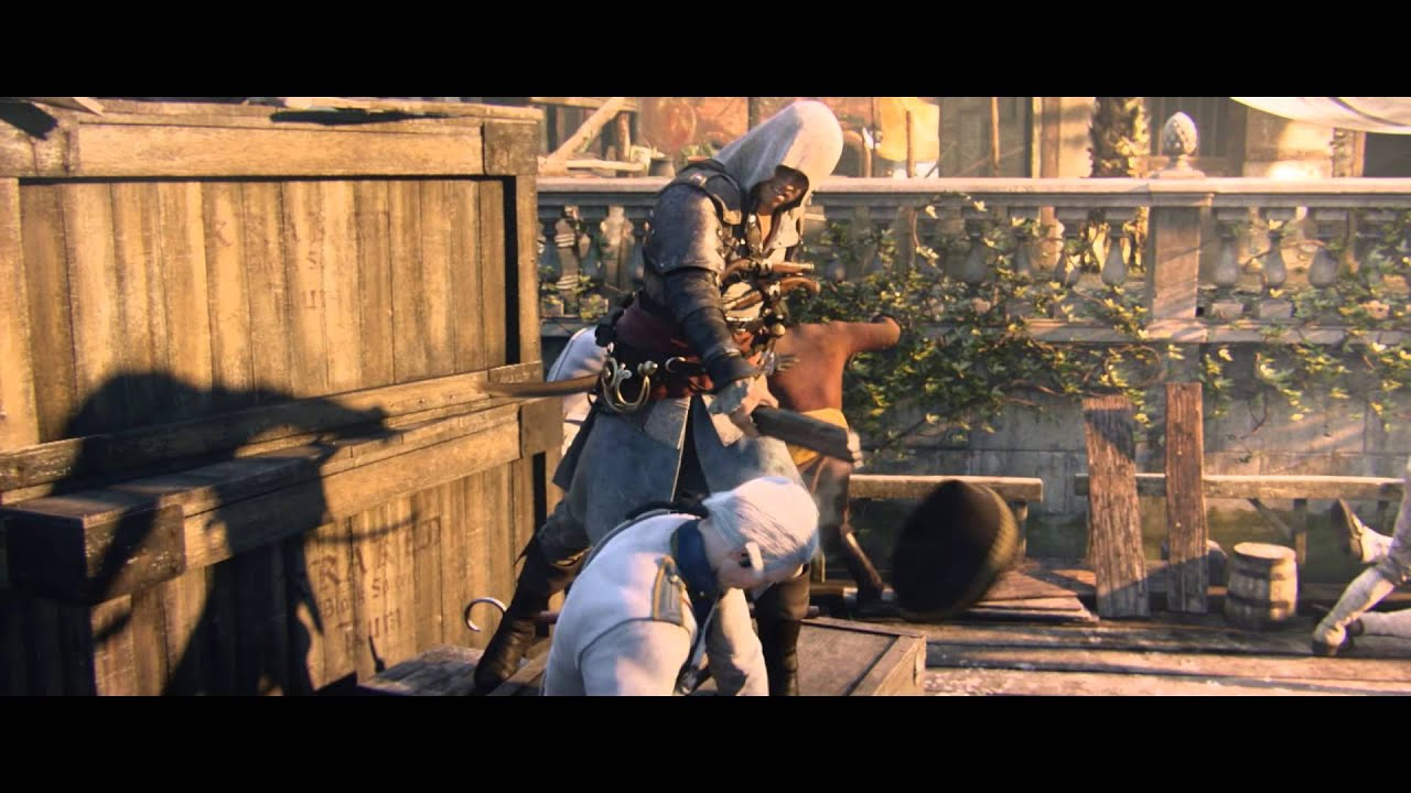 Fall Out Boy Wallpaper Logo The Official World Premiere Trailer Assassin S Creed 4