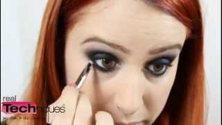 smokey eyes make up tutorial con bold metals collection   erikioba for real techniques italia