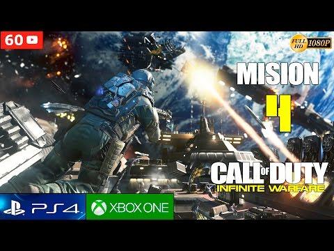 Call of Duty Infinite Warfare Mision 4 Español Gameplay PS4 1080p 60fps | Campaña Walktrough parte 4