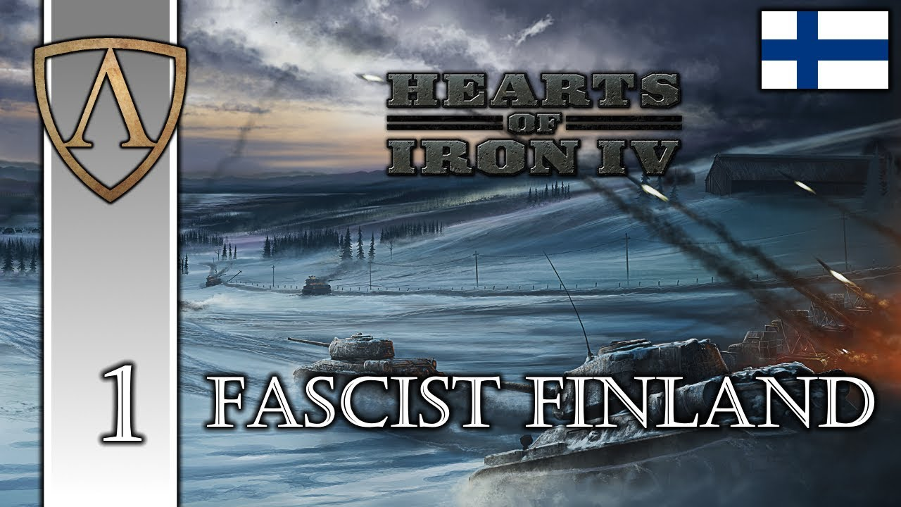 Let's Play Hearts of Iron IV | Fascist Finland 1