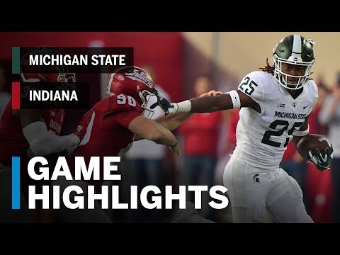 Highlights: Michigan State Spartans at Indiana Hoosiers | Big Ten Football