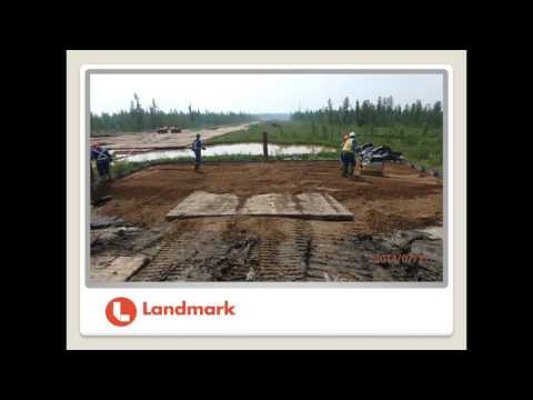 Landmark Solutions Ltd. - Pile Supported Road Construction Techniques for Alberta Wetlands
