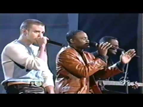 Brian McKnight, Wayne Brady & Justin Timberlake