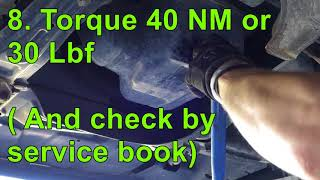 How to Change Car or Truck oil ( ALL STEPS for Beginners Guide )