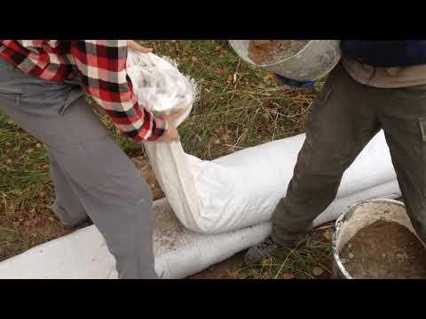 Супер дешёвый и надёжный фундамент - лучше ленточного и плиты. Часть 3