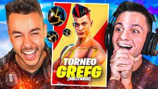 ¡EL ÚLTIMO TORNEO DE LA SKIN DE GREFG EN FORTNITE!!   Ampeterby7