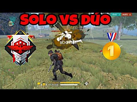 """EL """"MEJOR TIRO"""" Solo VS Dúo  en HEROICO +3300 PUNTOS. FREE FIRE"""