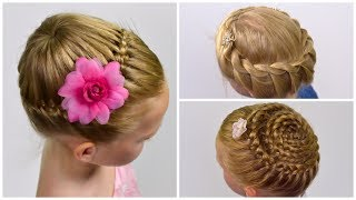 How  to: Crown Braid (3 ways) | Prom / Festival Hairstyles | Collection hairstyles #15
