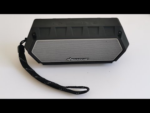 Soundcast VG1 Bluetooth speaker aptX unboxing in 4K