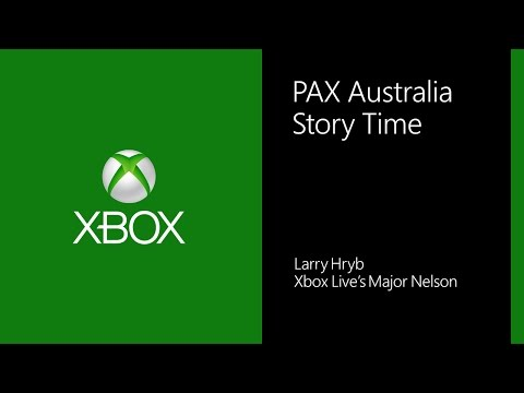 PAX Australia Storytime with Major Nelson