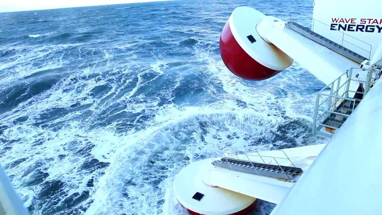 Cleantech Innovation Of Denmark Wavestar Energy Youtube