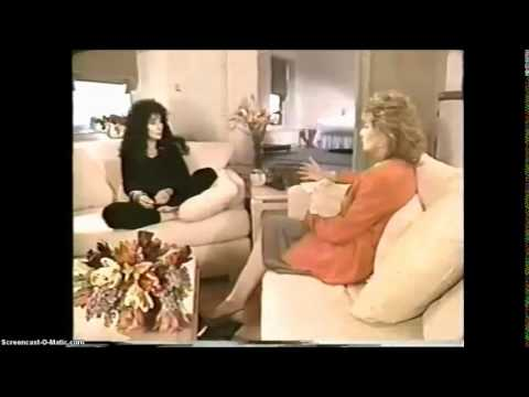 Cher on Barbara Walters