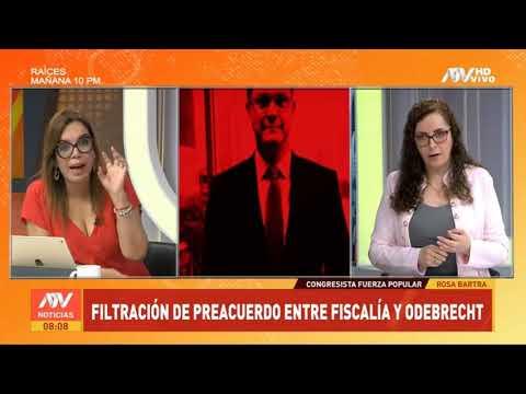 [#ENTREVISTA] en los estudios de #ATVNoticiasMatinal con @MilagrosLeivaG vía @atv_noticias