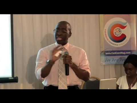 4. Caribbean Commerce Magazine launch Kingston, Jamaica - Anthony Phills, Founder Pt2