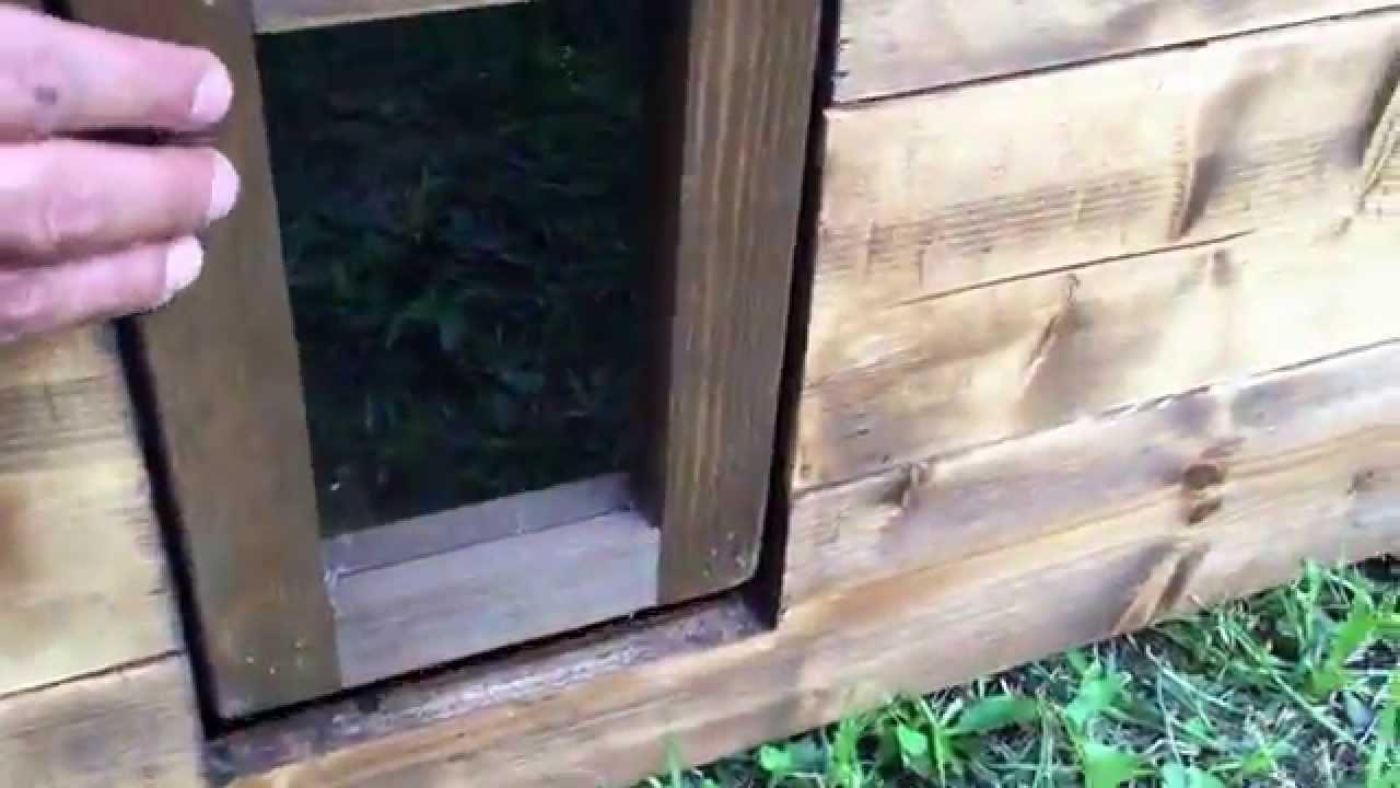 Casetta da esterno per gatti kandy youtube for Cucce per gatti da esterno coibentate