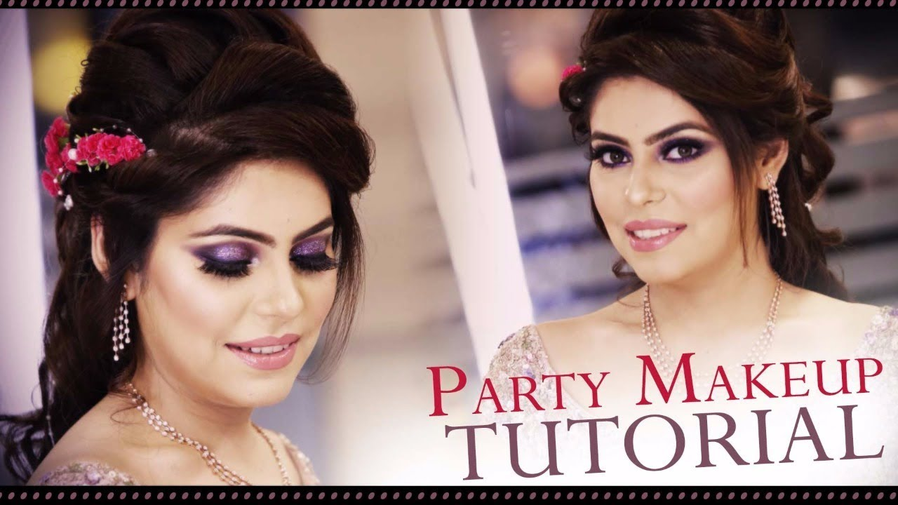 Party Makeup Tutorial | Step By Step Latest Eye & Face Makeup Tutorial for PARTY | Krushhh by Konica