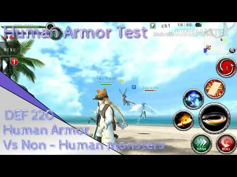 Thann Avabel Test - Human Armor Vs Non - Human Monsters