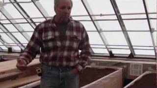 Planter Box Water Heating System in Solexx Greenhouse (1 of 4)