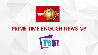 News 1st: Prime Time English News - 9 PM 13-10-2019