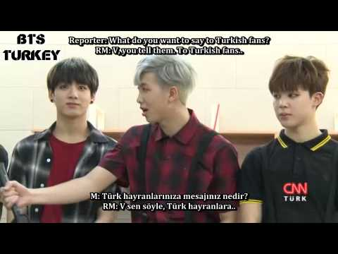 [27.05.2015] BTS Talks about Turkey on a Turkish News Channel (ENG/TR SUB)