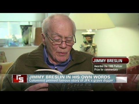 Jimmy Breslin in his own words