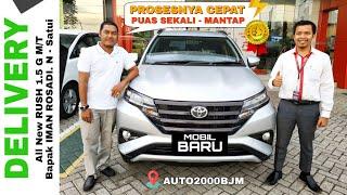 Delivery Mobil Bapak IMAN ROSADI NURDIN dari Al Kausar Satui - Customer Toyota Batulicin
