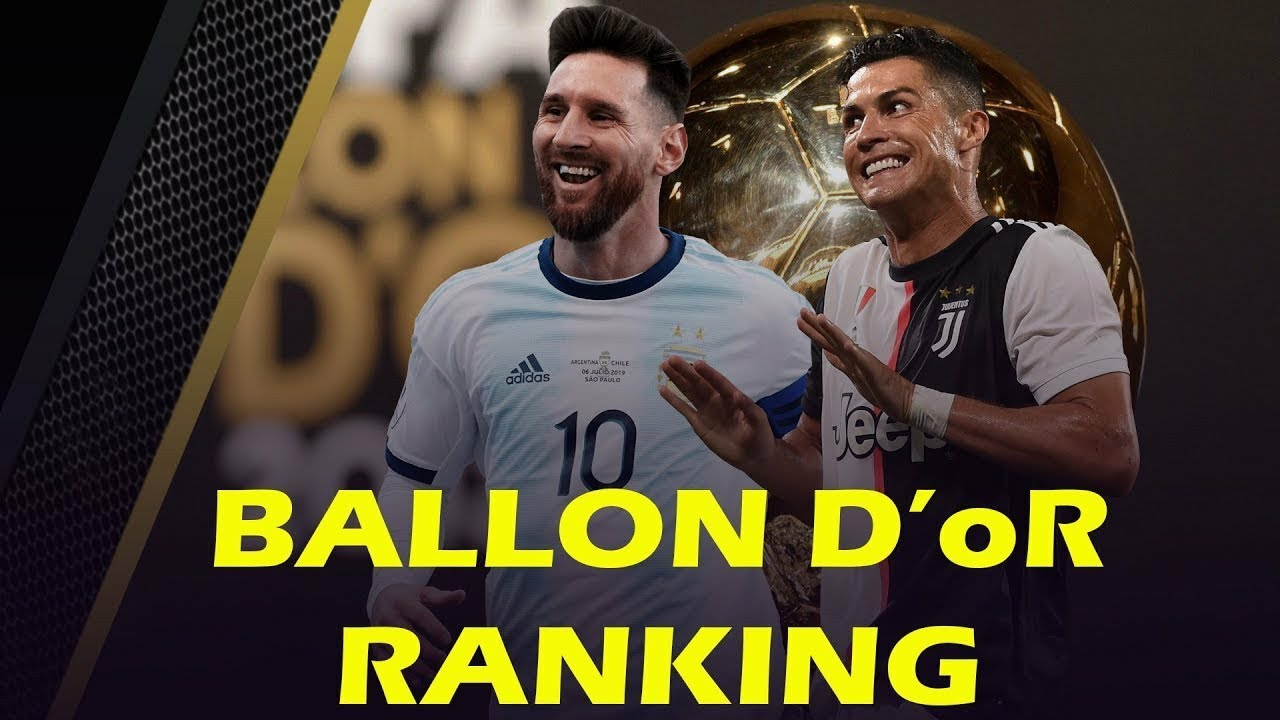 Ballon d'Or Ranking 2019 May [Top best football player in ...