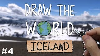 Draw The World 04 - ICELAND - Sketching The Landscapes