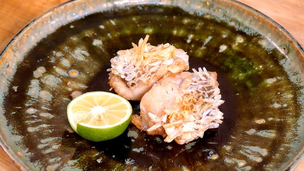 【鱗を食べる】サクサクがやみつきになる甘鯛の松笠焼きの作り方【若狭焼】