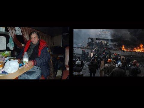Oleksandr Suprunyuk. Interview from the Maidan (Engl.) / Олександр Супрунюк. Інтерв'ю з Майдану.