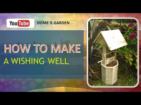 Woodworking Projects For Beginners : Pallet Wood Wishing Well (2018) 😍