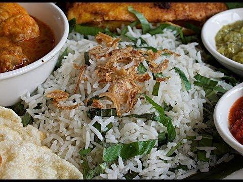 Nasi Ulam (Malaysian Herbed Rice Salad)