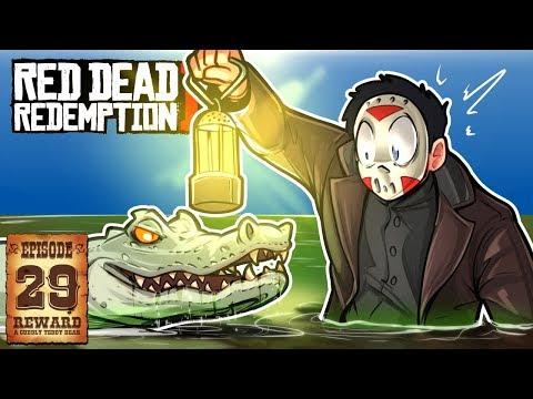 CREEPY WALK, BEAR ATTACKS & GIANT GATOR ! - RED DEAD REDEMPTION 2 - Ep. 29!