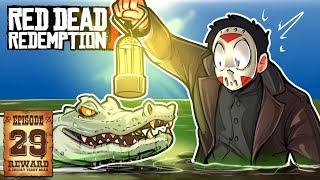 CREEPY WALK, BEAR ATTACKS & GIANT GATOR ! - RED DEAD REDEMPTION 2 - Ep. 29!