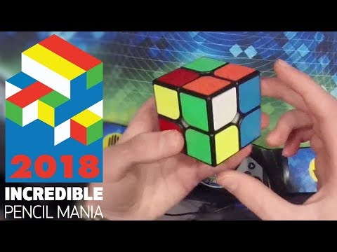 Rubik's Cube Competition VLOG   Incredible Pencil Mania 2018