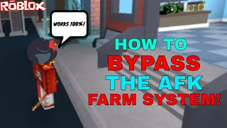 HOW TO BYPASS AFK FARMING! *GET LOTS OF COINS!* (ROBLOX ASSASSIN BYPASSING THE AFK BOT SYSTEM)