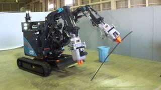 日立 福島第一原発用ロボット「ASTACO-SoRa」