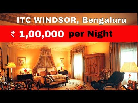 ₹ 1,00,000 Per Night Room In Bengaluru | Grand Windsor Suite | ITC Windsor