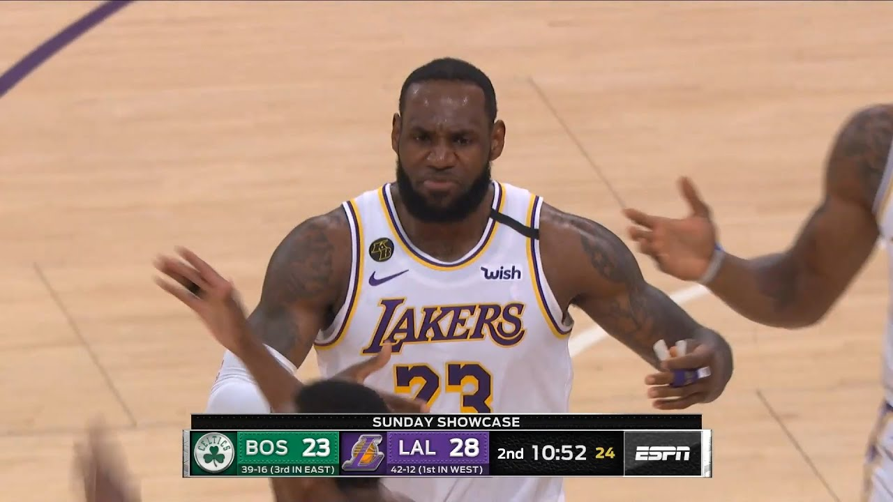 Los Angeles Lakers vs Boston Celtics 1st Qtr Highlights | February 23, 2019-20 NBA Season
