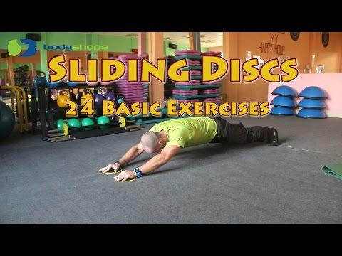24 Sliding Discs Exercises