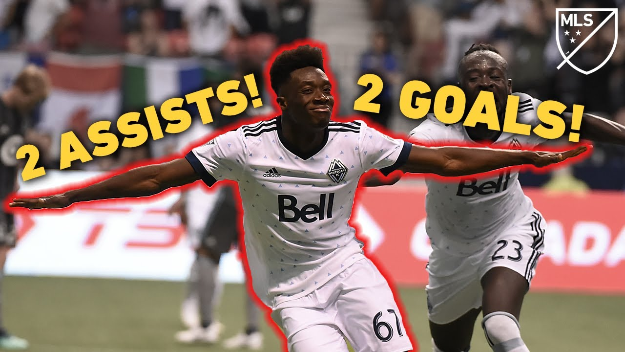When 17-Year-Old Alphonso Davies Had 2 GOALS and 2 ASSISTS in 1 GAME!