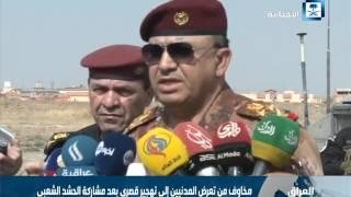 الجيش العراقي يواصل معركته في الموصل لليوم الرابع على التوالي