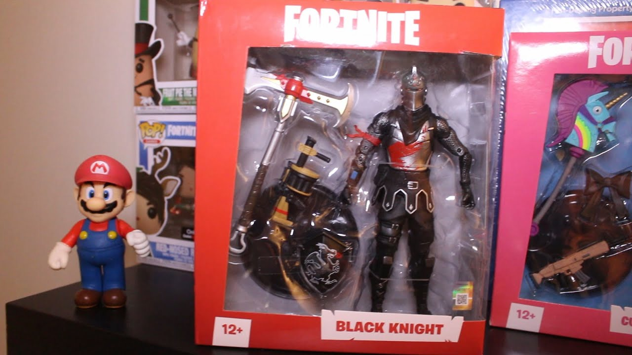 Raptor Knight Fortnite Mcfarlane Toys 7 Action Figures Unboxing