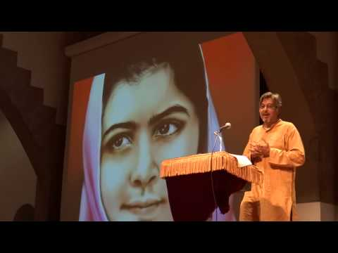 "VOICES of HOPE/ MANISH JAIN on MALALA YOUSAFZAI ""EDUCATION FOR ALL"""