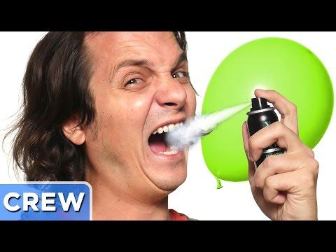 Making a Gross Breath Balloon
