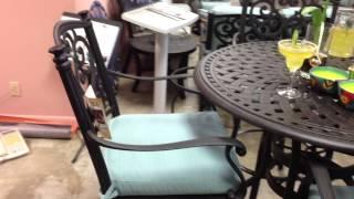 Bar Set 5 Piece Table & 4 Bar Chairs