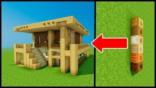 Minecraft: 1.13/1.14 Update - House & Tricks and Tips!